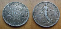 2 francs argent 1913