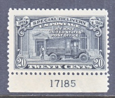 U.S. E 14     **  1925 Issue  MAIL TRUCK - Special Delivery, Registration & Certified