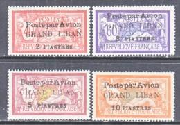 FRENCH  GRAND  LIBAN  C 1-4  * - Great Lebanon (1924-1945)