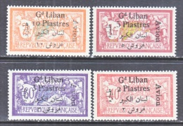 FRENCH  GRAND  LIBAN  C 5-8    * - Great Lebanon (1924-1945)