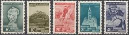 Hungary 1939 Mi#593-597 Mint Hinged