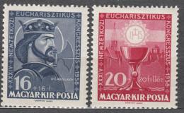 Hungary 1938 Mi#571-572 Mint Hinged