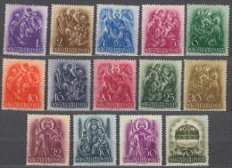 Hungary 1938 Mi#551-564 Mint Hinged