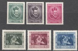 Hungary 1935 Mi#522-527 Mint Hinged