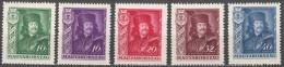 Hungary 1935 Mi#517-521 Mint Hinged