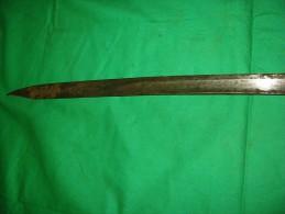 épée De Fourier Ou Musicien Italienne Modèle 1833 - Armes Blanches