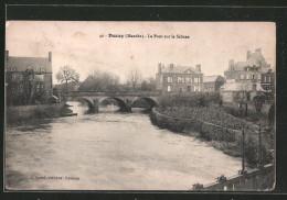 CPA Ducey, Le Pont Sur La Sélune - Ducey