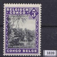 BELGIAN CONGO 1938; Mi: 173; MH; Propaganda for the National Parks (Malvaux)
