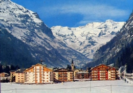 Gressoney - St.jean - Panorama E Le Catene Del Monte Tosa - Aosta - 29 - Formato Grande Viaggiata - Italy