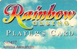 Rainbow Casino - member card - Vicksburg - Mississippi - USA