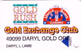 Casino Hotel Gold Rush & Uncle Sams - Gold Exchange Club - Cripple Creek - Colorado - USA