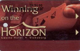 Casino Horizon - Member Card - Vicksburg - Mississippi - USA
