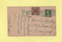 Vignette De La Croix Rouge - Joyeux Noel - Bonne Annee - New York - 1910 - Briefe U. Dokumente