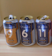 PERU BEER CANS THEME SOCCER - Cannettes