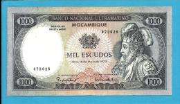 MOZAMBIQUE - 1000 ESCUDOS - 16.05.1972 - P 112 - D. AFONSO V - Portugal - Mozambique