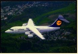 Lufthansa  -  Cityliner Avro RJ85  ,  Ansichtskarte Ca.1975    (4420) - 1946-....: Moderne