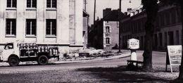 X89023 Peu Commun AILLANT Sur THOLON (89) Yonne Camion Laitier MAIRIE Café Bar Restaurant ROUTIERS Tabac FELIX Traction - Aillant Sur Tholon