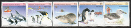 Australian Antarctic AAT 79/83 ** Technologie & Environnement (phoque, Manchot) - Unused Stamps