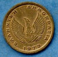 R65/ GRECE / GREECE 50 LEPTA 1973 - Grèce