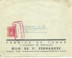 CENSURA  SAN SEBASTIAN   SOLO FRONTAL - Marcas De Censura Nacional