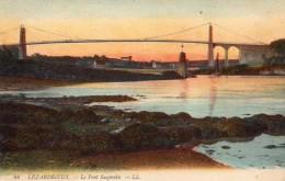 22 Lezardrieux Le Pont Suspendu Colorisée - Non Classés