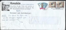 Hong Kong Airmail 2006 Birds Fork-tailed Sunbird, 2009 WADP Numbering System - WNS, Kreskin Sent To Pakistan - Covers & Documents