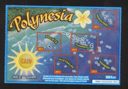 Grattage PACIFIQUE DES JEUX - POLYNESIA - 98801 - SPECIMEN - Billets De Loterie