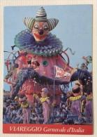 Carnevale D'Italia Retro Veglioni Ufficiali Con Francobollo - Viareggio