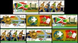 Burundi, UPU Centenary, United Nations, MNH, Michel 1069B-1084B - 1970-79: Neufs