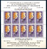 1964 COSTA D'AVORIO    Europa - Africa Minifoglio ** MNH - Costa D'Avorio (1960-...)