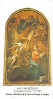 SANTINO  ANNUNCIAZIONE CHIESA DI S. MARIA DI FOSSOLO IN BOLOGNA - Santini