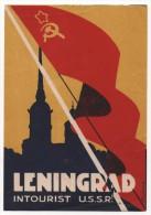 Hôtel LENINGRAD Intourist USSR - Pubblicitari