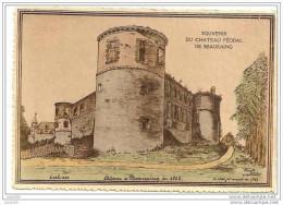 BEAURAING ..-- Le Château En 1823 . - Beauraing