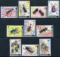 RWANDA 1978 - Col�opt�res, Insectes du Rwanda - 10 Val Neuf // Mnh
