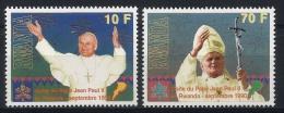RWANDA 1990 - Visite Du Pape Jean Paul II Au Rwanda - 2 Val Neuf // Mnh // CV €20.00 - 1990-99: Neufs