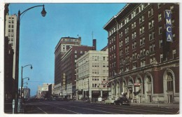 Broadway, Looking West From Its Intersection With Third Street, Louisville, Kentucky - Louisville