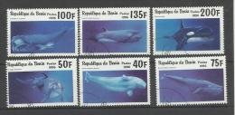 Cétacés Baleines Dauphins Whale Walfisch Ballena Delphin Delfin Delphin  ° 22 Benin - Whales