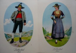 CARNET   DE  15 SUPERBES CARTES COSTUMES NATONAUX AUTRICHE D'après Aquarelles De A .BLASCHKE - Austria