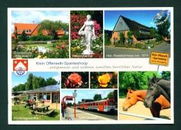 GERMANY  -  Klein Offensath-Sparrieshoop  Multi View  Used Postcard As Scans - Pinneberg