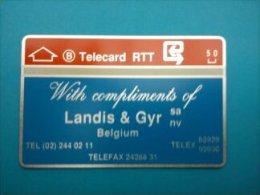 Landis & Gyr 810 E Catalogue 280 Euro ( Mint,Neuve) Very Rare !