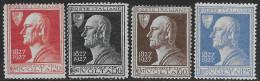 Italia Italy 1927 Regno Volta Sa N.210-213 Completa Nuova MH * - 1900-44 Vittorio Emanuele III