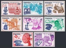 RWANDA 1976 - Centenaire du T�l�phone - 8 val Neuf // Mnh