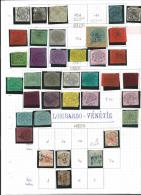 Papal States   And  Lombardo-Venice    1  Page   With Stamps          O /   *        Cancelled /   Mint - Stato Pontificio