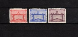 Uruguay 1928 Olympic Games, Football Soccer Set Of 3 MH