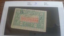 LOT 259411 TIMBRE DE COLONIE SOMALIS OBLITERE DEPART A 1€