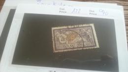LOT 259414 TIMBRE DE FRANCE OBLITERE N�122 VALEUR 90 EUROS DEPART A 1€