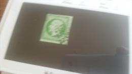LOT 259435 TIMBRE DE FRANCE OBLITERE N�12 VALEUR 90 EUROS  DEPART A 1€