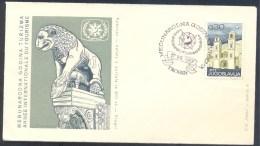 Yugoslavia 1967 Cover: Fauna Lion Löwe Tourism - Félins