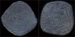 Spain Philip IV 8 Maravedis Valladolid Restruck VIII Maravedis 1641 Sevilla - [ 1] …-1931 : Royaume