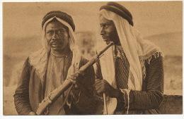 Ibn El Sioud Bedouins Arabia Photo S. Nariosky Written In Arab And In Hebrew No 44 Jamal Bros Jerusalem Palestine 1921 - Arabie Saoudite